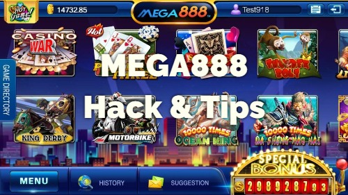 IS IT POSSIBLE TO HACK MEGA888 IN 2020